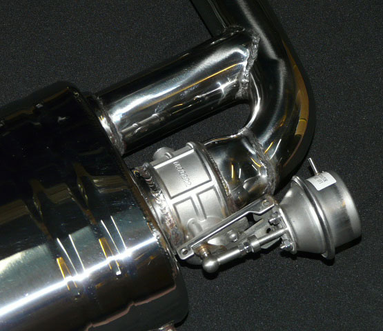 Porsche 987 2 Boxster Cayman Nhp Exhaust With Sound Valves