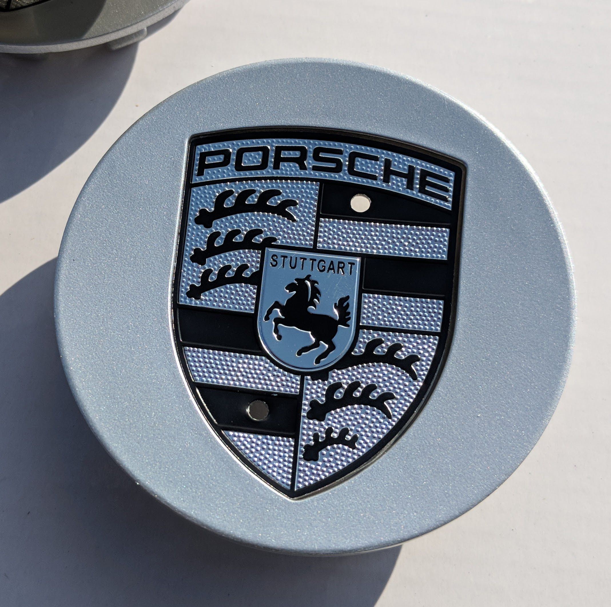 Porsche Wheel Center Caps Set Of 4